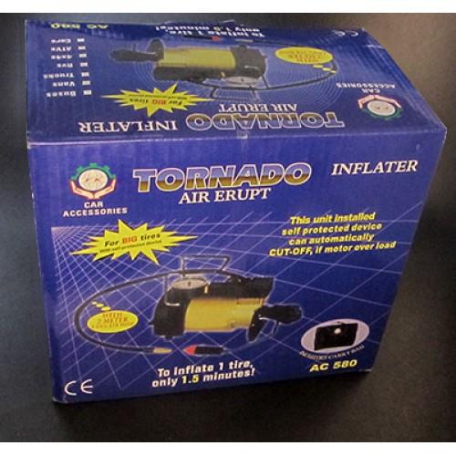 خرید پستی  پمپ باد یا کمپرسور فندکی خودرو مدل تک سیلندر فلزی