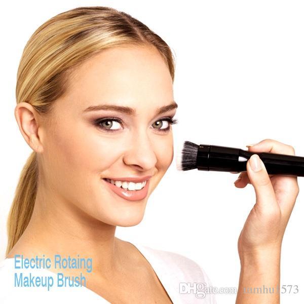 خرید پستی  فرچه آرایش حرفه ای دو کاره باطری خور