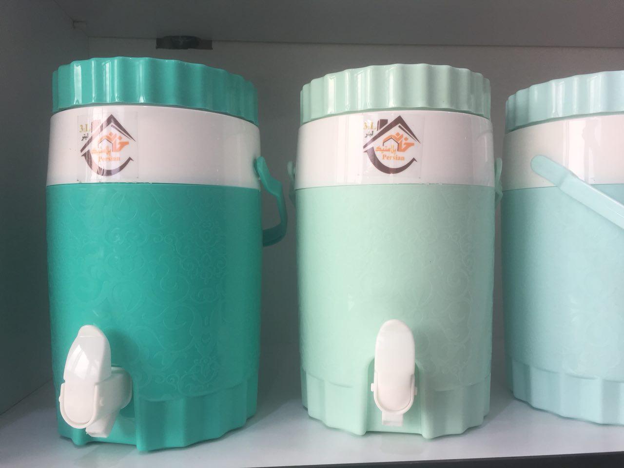 خرید پستی  کلمن شیر دار لیوان دار 3 لیتری