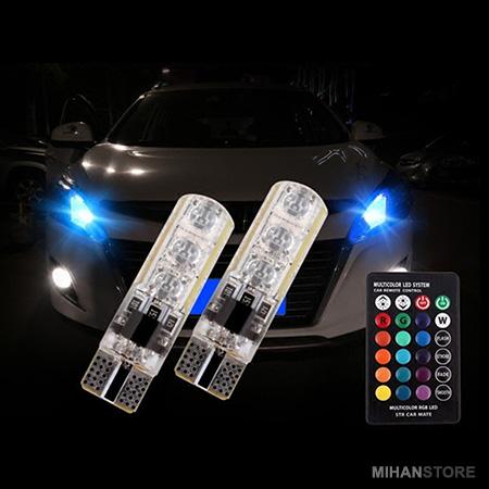 خرید پستی  لامپ خودرو مدل Multi Color