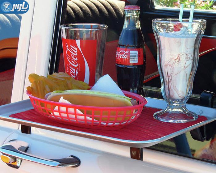 سینی غذا آویز دار پنجره ماشین
