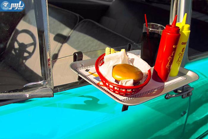 سینی غذا خوری ماشین