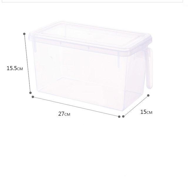 خرید پستی  باکس دسته دار نظم دهنده یخچال