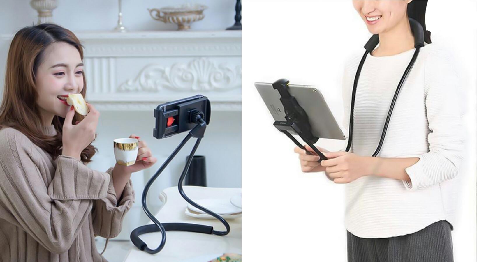 عکس محصول هولدر گردنی موبایل و تبلت Mobile and tablet neck holder