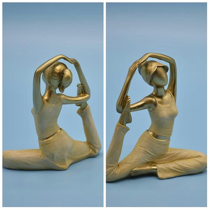 خرید پستی  پک 8تایی مجسمه های دکوری یوگا