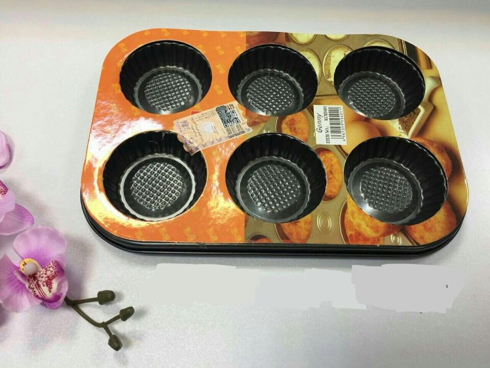 خرید پستی  قالب 6 خانه مافین و شیرینی پزی