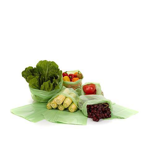 خرید پستی  کیسه های سبز افزایش مدت نگهداری مواد غذایی 2بسته ای