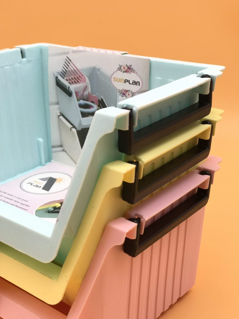 خرید پستی  فایل و باکس 3طبقه ی sun plan
