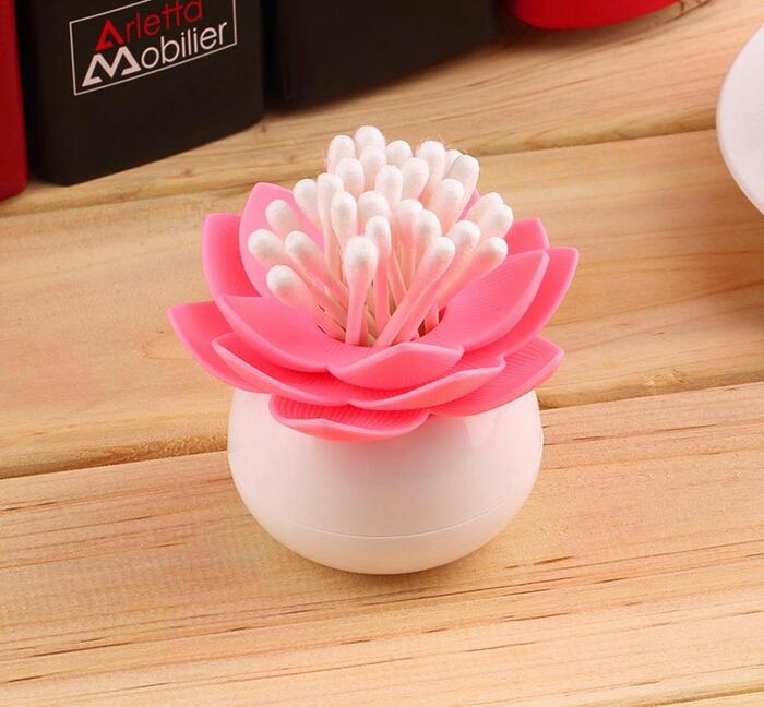 خرید پستی  جا خلال دندان فانتزی طرح گل