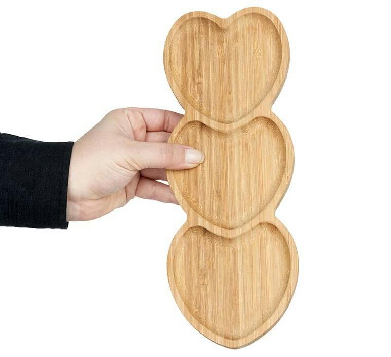 خرید پستی  اردو خوری قلبی بامبوم مدل Amor