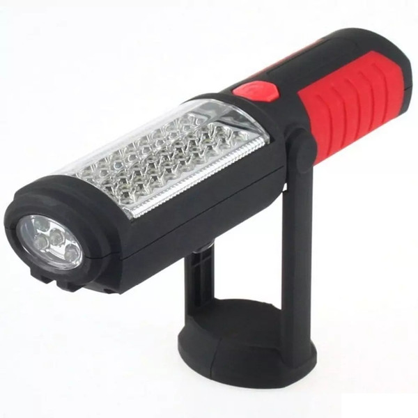 خرید پستی  چراغ اضطراری پرتابل33 لامپی آهنربا دار