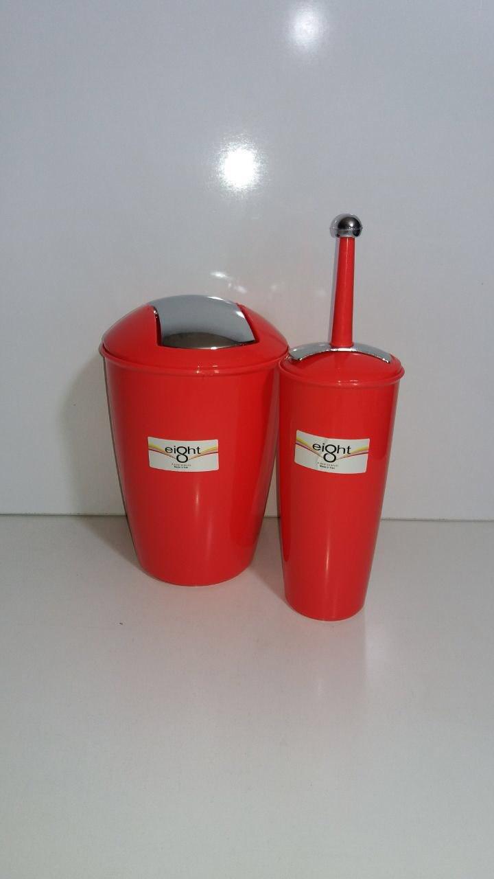 خرید پستی  ست سطل و فرچه ی توالت ایت8