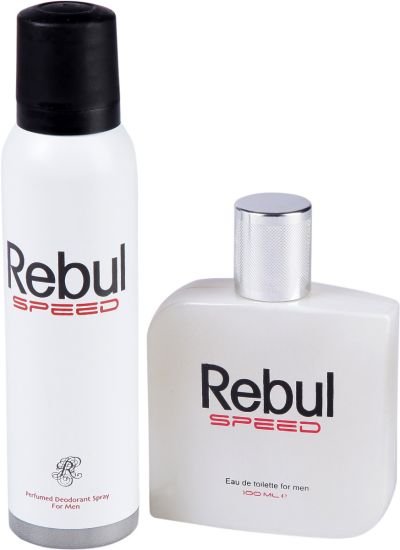 خرید پستی  ست ادکلن و اسپری مردانه REBUL SPEED