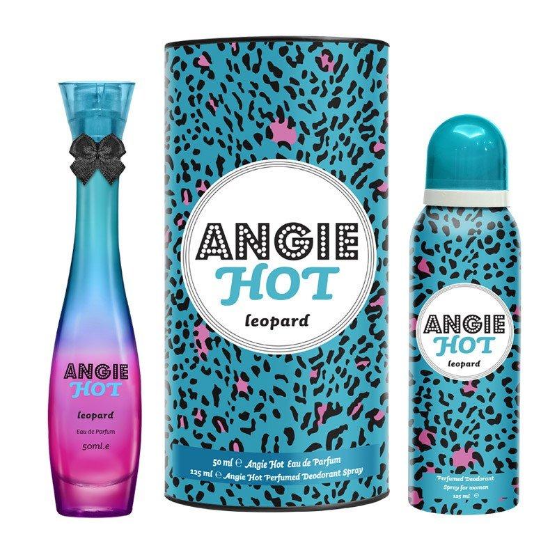 خرید پستی  ادکلن و اسپری ANGIE HOT Leopard