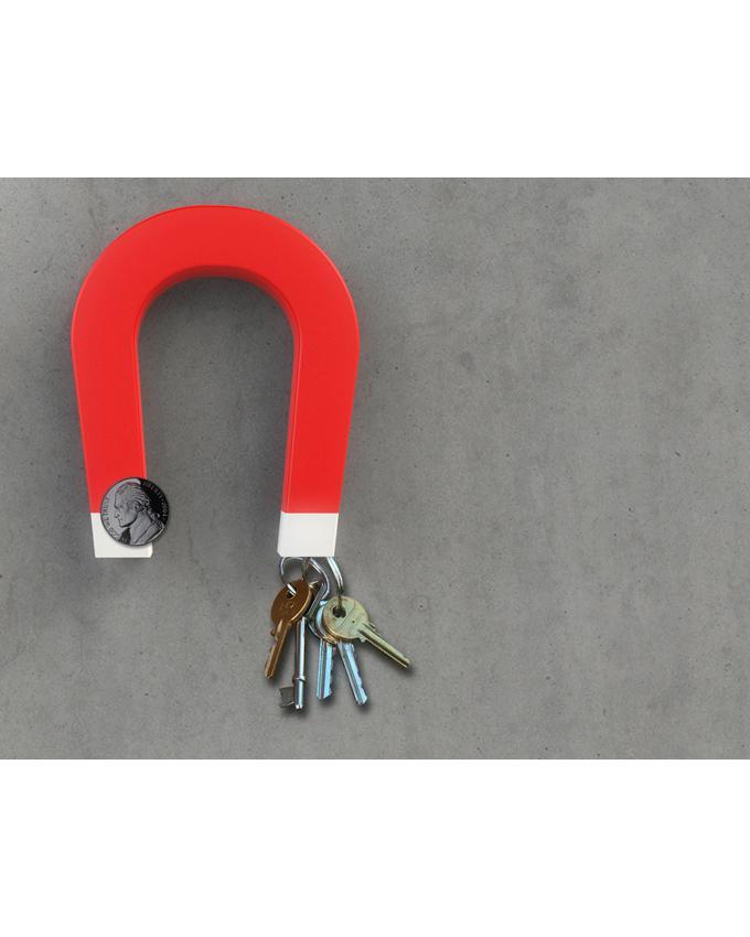 خرید پستی  جا کلیدی مگنت دار طرح آهنربا