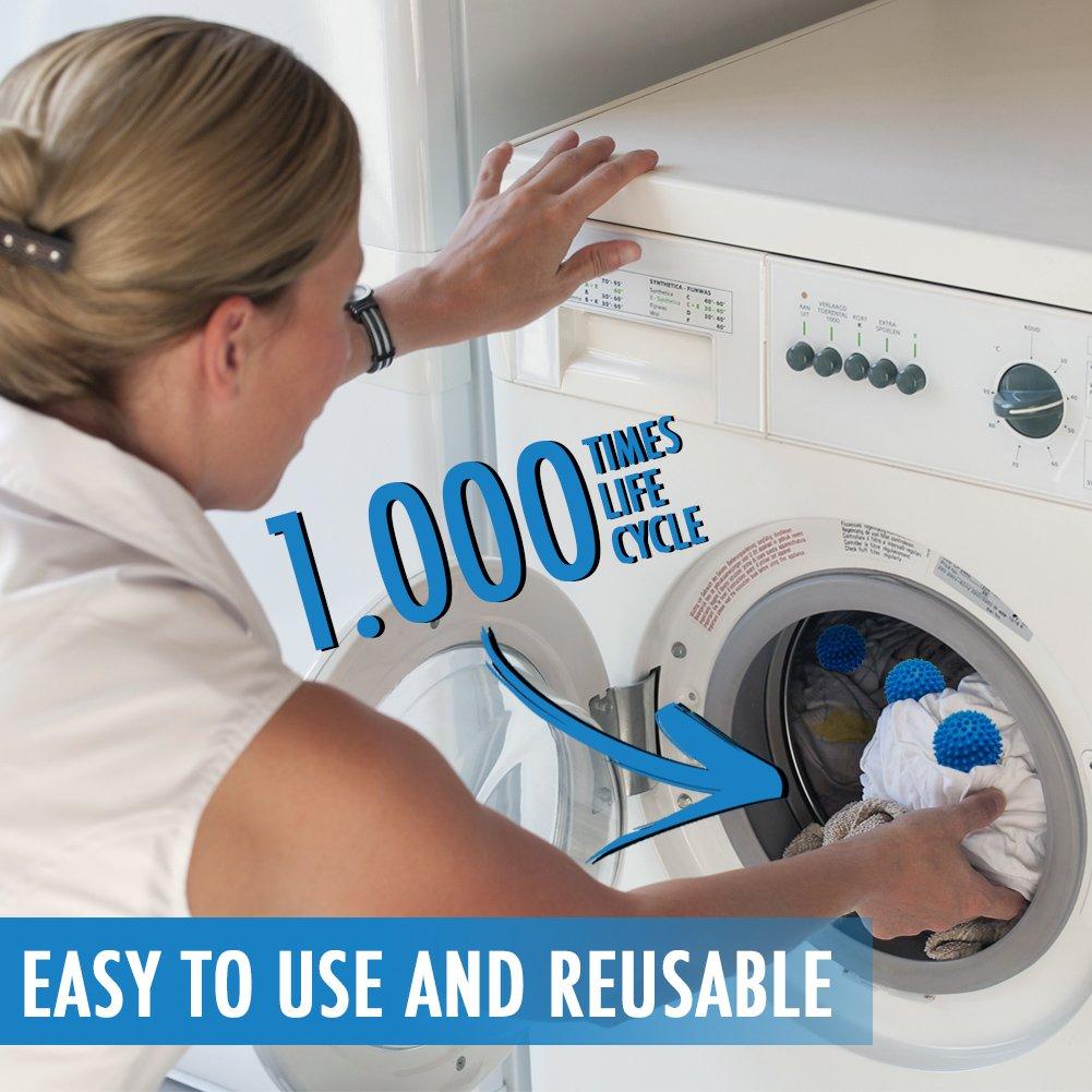 خرید پستی  توپ های خشک کننده و نرم کننده لباس Dryer Balls