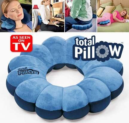 بالش چند کاره توتال پیلو total pillow
