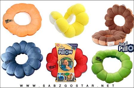 خرید اینترنتی بالش چند حالته توتال پيلو total pillow