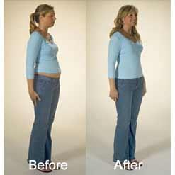 به محض پوشیدن گن لاغری وی کر تغییر سایز خود را ببینید