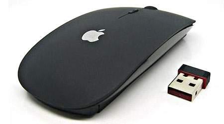 ماوس بی سیم طرح اپل تا 8 متر دور از رایانه