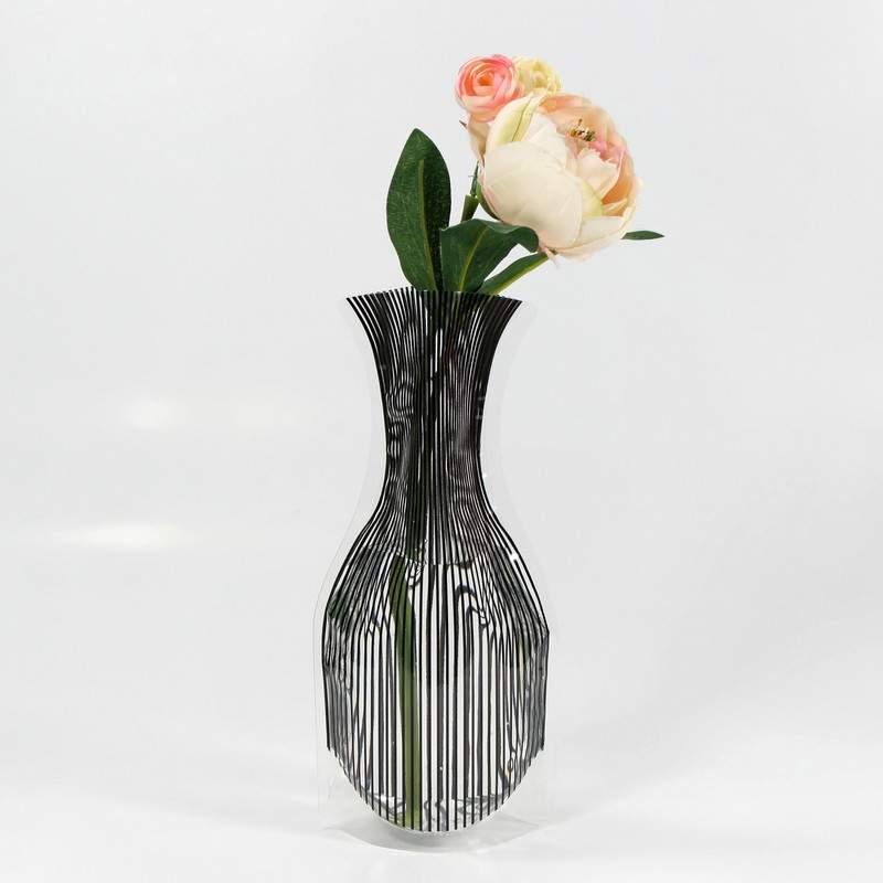 خرید پستی  گلدان تاشو کم حجم تخفیف ویژه 2عدد
