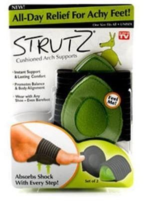 درمان پادرد و صافی کف پا با استروتز strutz