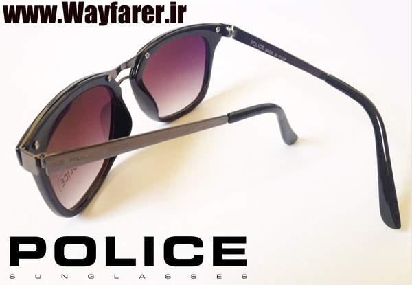 خرید عینک پلیس طرح ویفری مشکی و قهوه ای